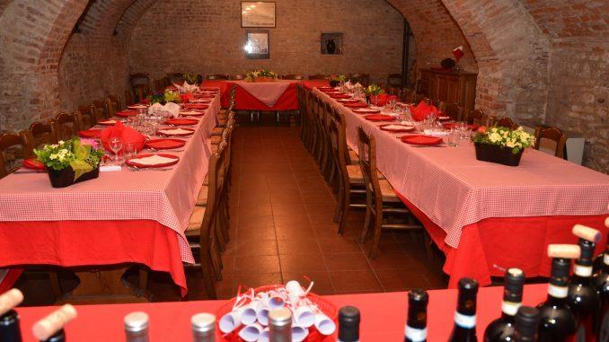 Cena a base di pesce con la Famija albèisa 1