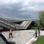 Crollo del ponte a Fossano: tutte le modifiche alla viabilità