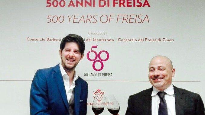 Al Vinitaly si festeggiano 500 anni di freisa 1
