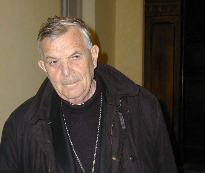 È scomparso improvvisamente a Roma monsignor Diego Bona