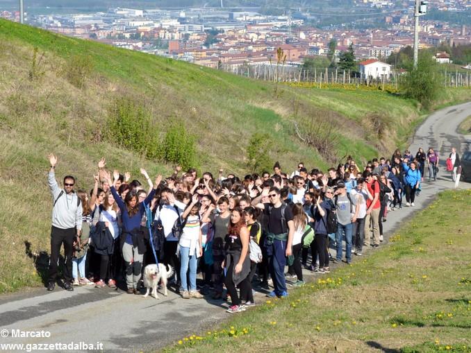 Studenti da 4 Nazioni alla scoperta delle colline albesi 32