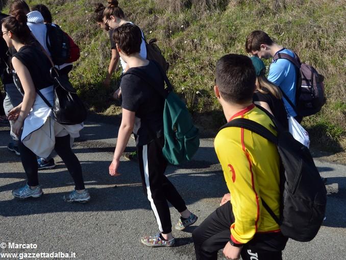 trekking da vinci scuole gemellate (1)