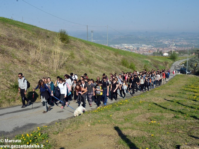 Studenti da 4 Nazioni alla scoperta delle colline albesi 26