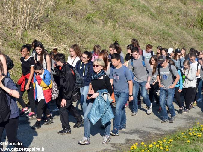 trekking da vinci scuole gemellate (25)