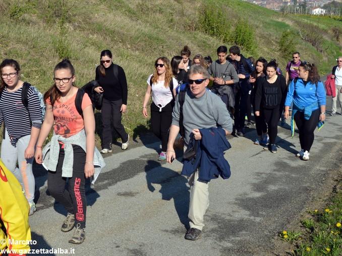 Studenti da 4 Nazioni alla scoperta delle colline albesi 29