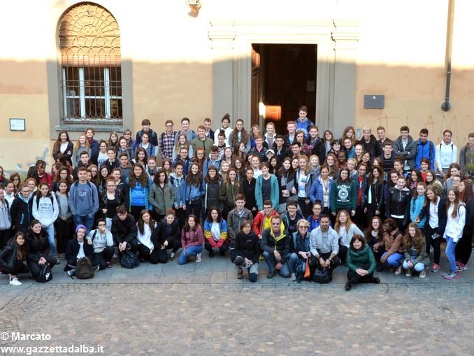 Studenti da 4 Nazioni alla scoperta delle colline albesi 37