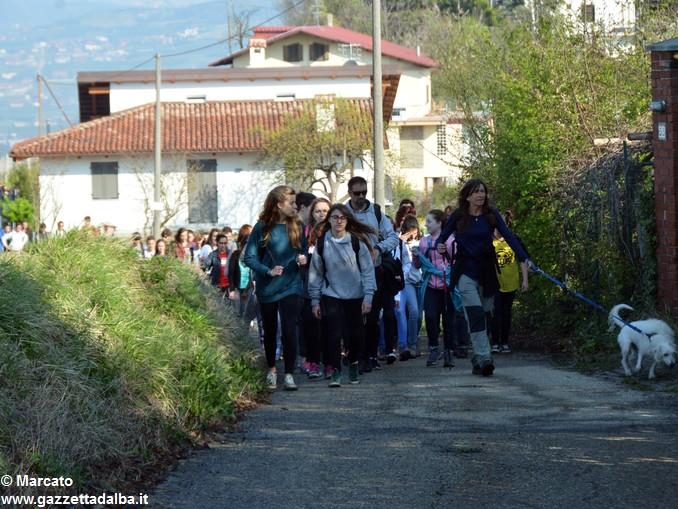 trekking da vinci scuole gemellate (7)