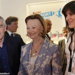 Salone del libro: la visita di Tajani, Minniti, Chiamparino e Appendino allo stand Ferrero