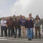 Gli alpini di Borgomale in visita al sacrario del Monte Grappa