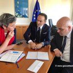 Asti-Cuneo: Cirio e Marello incontrano a Strasburgo la commissaria alla concorrenza Vestager