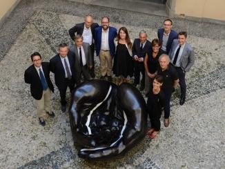L'economista Tommaso Nannicini in visita alla Fondazione Crc