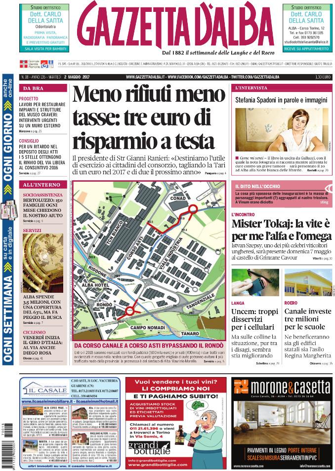 Prima_pagina_Gazzetta_dAlba_n_18_2017