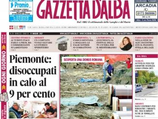 La copertina di Gazzetta di martedì 9 maggio