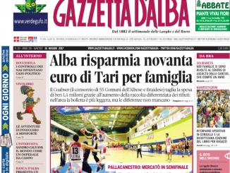 La copertina di Gazzetta di martedì 16 maggio