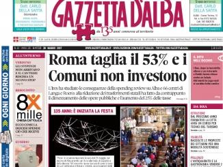 La copertina di Gazzetta di martedì 30 maggio