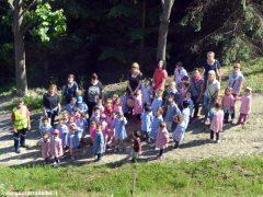 Dietro al Salone di Vezza nascerà un bosco, grazie ai bimbi e alla Regione 13