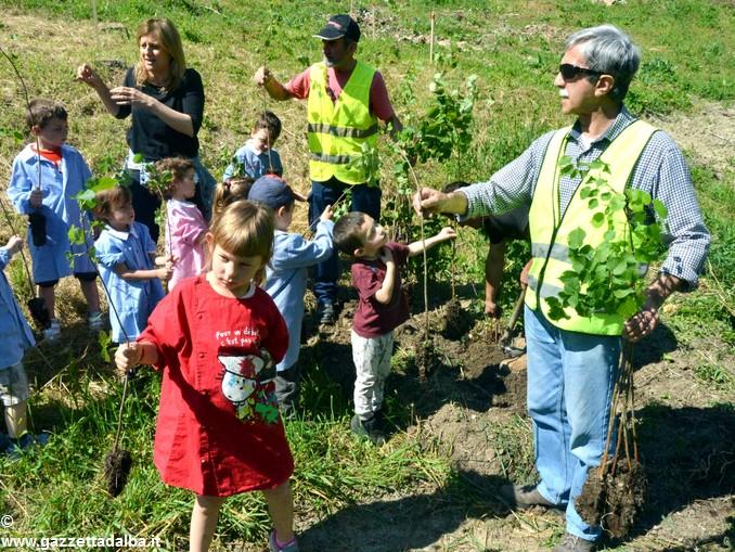 Vezza bimbi piantano bosco nuovo (45)