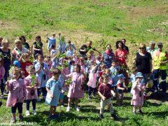 Dietro al Salone di Vezza nascerà un bosco, grazie ai bimbi e alla Regione 15
