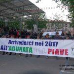 """Iniziata la pacifica """"invasione"""" di Treviso. Saranno oltre 5 mila le penne nere cuneesi in sfilata"""