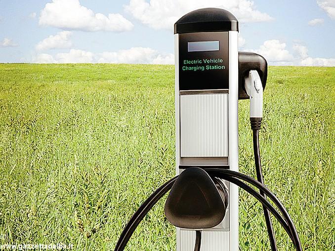 colonnina auto elettrica