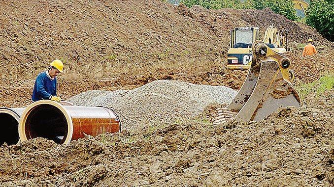 Dagli scavi per la fognatura del nuovo ospedale emerge una domus romana