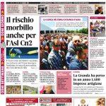 La copertina di Gazzetta di martedì 23 maggio
