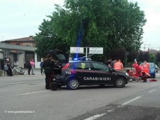 Cherasco: un anziano è stato investito mentre percorreva corso Einaudi in bici