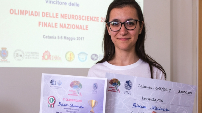 Bianca, studentessa albese, rappresenterà l'Italia alle International Brain Bee di Washington