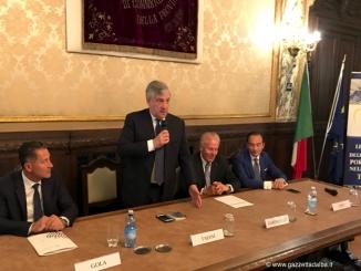 Tajani agli industriali: «L'Italia deve credere nell'Ue per contare di più»