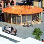 Arca, lo spazio per i Tetti blu d'arte e design