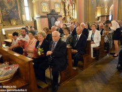 Anniversari di nozze: a Canale 34 coppie hanno festeggiato domenica 3