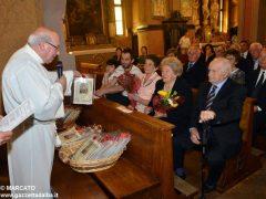 Anniversari di nozze: a Canale 34 coppie hanno festeggiato domenica 6
