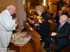 Anniversari di nozze: a Canale 34 coppie hanno festeggiato domenica 7