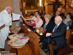 Anniversari di nozze: a Canale 34 coppie hanno festeggiato domenica 8