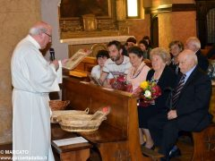 Anniversari di nozze: a Canale 34 coppie hanno festeggiato domenica 9