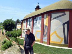 David Tremlett inaugura la cappella restaurata a Coazzolo. Ecco le foto 13
