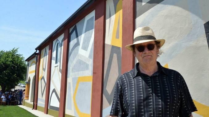 David Tremlett inaugura la cappella restaurata a Coazzolo. Ecco le foto 14