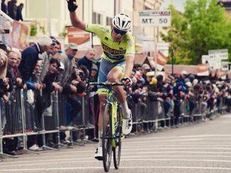 Massimo Rosa è secondo nella sesta tappa del Giro d'Italia under 23 1