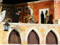 Ad Alba una sfilata di lanterne per Burattinarte e Arlecchino 5