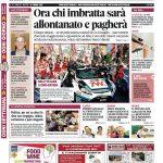 La prima pagina di Gazzetta in edicola martedì 20 giugno