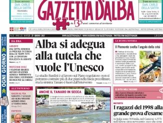 La copertina di Gazzetta di martedì 27 giugno