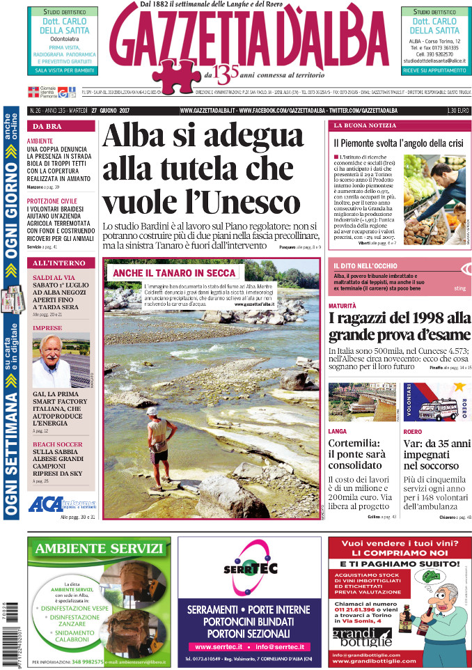 Prima_pagina_Gazzetta_dAlba_n_26_2017