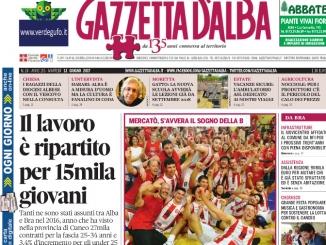 La copertina di Gazzetta di martedì 13 giugno