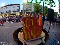 Tutte le foto del fuoco di bivacco degli Scout di Alba, Roero e Canale 22