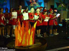 Tutte le foto del fuoco di bivacco degli Scout di Alba, Roero e Canale 59