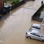 Bomba d'acqua: la furia del nubifragio si abbatte sul Roero