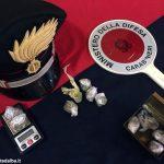 I Carabinieri hanno fermato due giovanissimi pusher in centro ad Alba