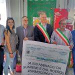 Il Roero ha donato 35.773 euro al comune terremotato di Arquata del Tronto