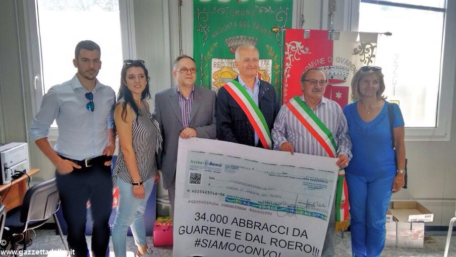 consegna donazione CANTè JEUV