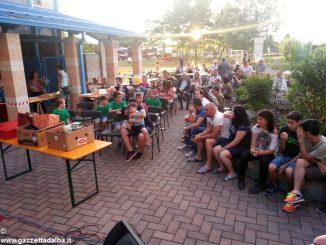 La festa dei Tetti blu in viale Masera